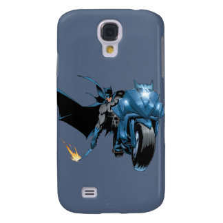 Batman with Cycle Galaxy S4 Case
