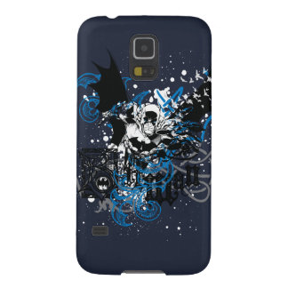Batman with Knotwork Collage Galaxy S5 Covers
