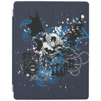Batman with Knotwork Collage iPad Cover