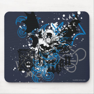 Batman with Knotwork Collage Mouse Mat