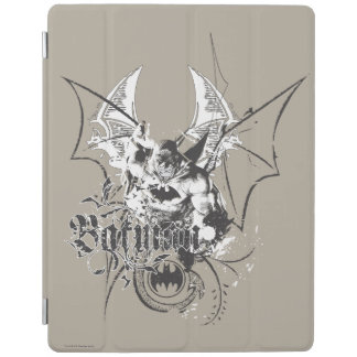Batman with Logo and Wings iPad Cover