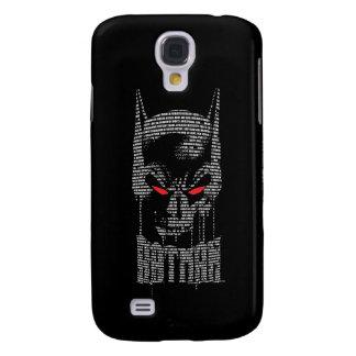 Batman With Mantra Galaxy S4 Case