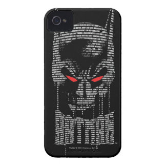 Batman With Mantra iPhone 4 Cases