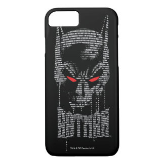 Batman With Mantra iPhone 8/7 Case