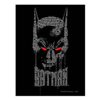 Batman With Mantra Postcard