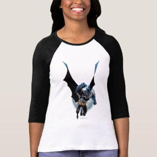 Batman with Moon T Shirt