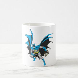 Batman with Rope Basic White Mug
