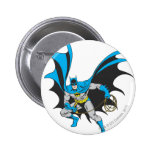 Batman with Rope Pinback Buttons