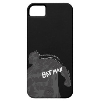 Batman - Wordy iPhone 5 Case