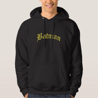 Batman | Yellow Black Outline logo Hoodie