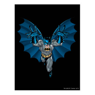 Batman Yells Postcard