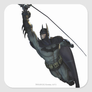 Batman Zip Line Square Sticker