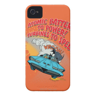 Batmobile Graphic iPhone 4 Cover