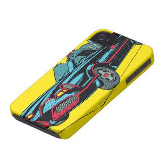 Batmobile iPhone 4 Cases