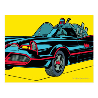 Batmobile Postcard