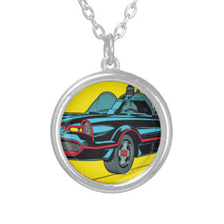Batmobile Silver Plated Necklace