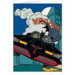 Batmobile Wroom! Card