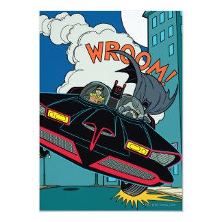 Batmobile Wroom! Invitation