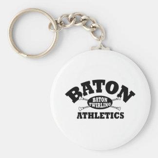 Baton Athletics Key Chain