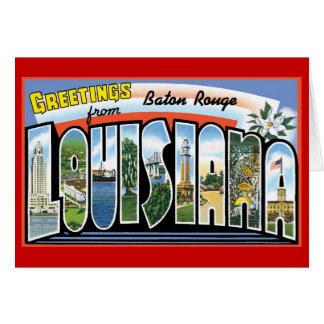 Baton Rouge Greetings Card