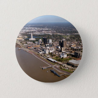 Baton Rouge Louisiana 6 Cm Round Badge