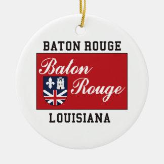 Baton Rouge Louisiana Christmas Ornament