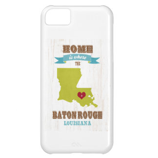 Baton Rouge, Louisiana Map – Home Is Where iPhone 5C Cases