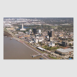 Baton Rouge Louisiana Rectangular Sticker