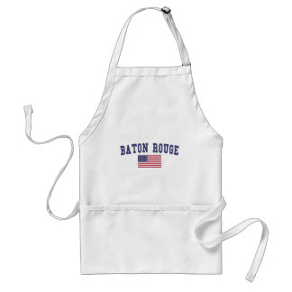 Baton Rouge US Flag Standard Apron