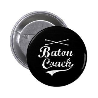 Baton Twirler Coach 6 Cm Round Badge