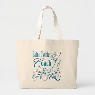 Baton Twirler Coach Swirly Tote Bag