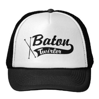 Baton Twirler Mesh Hats