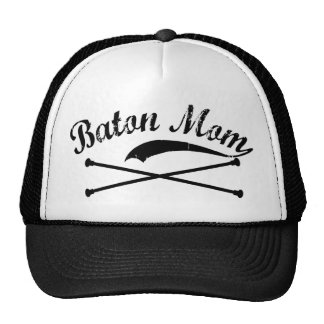 Baton Twirler Mom Hat