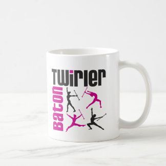 Baton Twirler Square Mugs