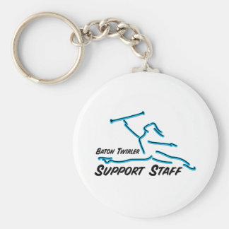 Baton Twirler Support Staff Key Chains
