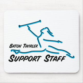 Baton Twirler Support Staff Mouse Mats