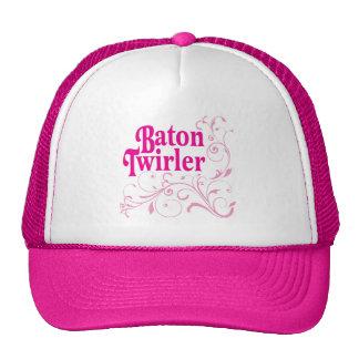 Baton Twirler Swirly Hats