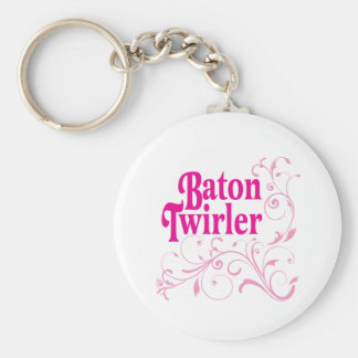 Baton Twirler Swirly Keychains