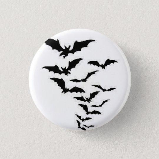Bats! 3 Cm Round Badge