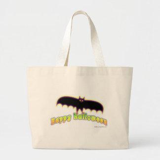 Bats 4 Halloween Art Tote Bags