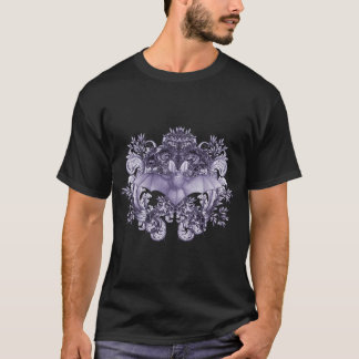 Bats and Swirls Gothic T-Shirt