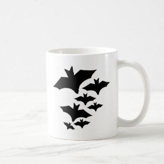 Bats are Coming Classic White Coffee Mug