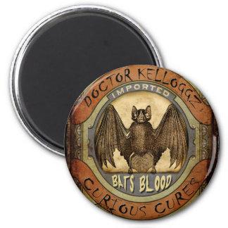 Bats Blood 6 Cm Round Magnet