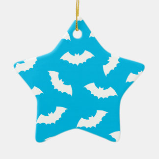 Bats Ceramic Star Decoration