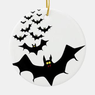 Bats Christmas Ornament