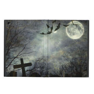 Bats flying in the night iPad air case
