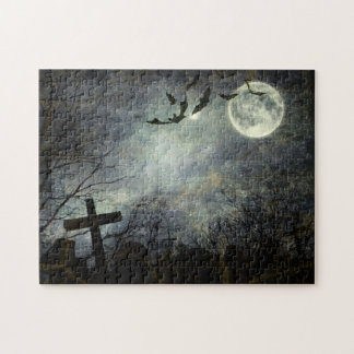 Bats flying in the night jigsaw puzzle