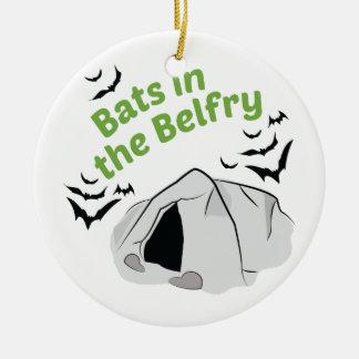 Bats In Belfry Christmas Ornament