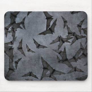 Bats In The Dark Cloudy Sky Mouse Mat