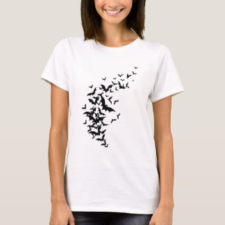 Bats on White T-Shirt